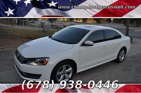 2012 Volkswagen Passat for sale in Roswell, GA