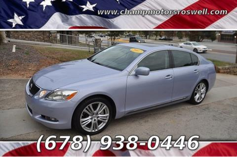 2007 Lexus GS 450h for sale in Roswell, GA