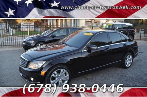 2011 Mercedes-Benz C-Class for sale in Roswell, GA