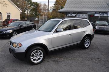 2004 BMW X3 for sale in Roswell, GA
