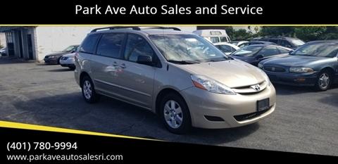 Park Ave Auto >> Toyota For Sale In Cranston Ri Park Ave Auto Sales And