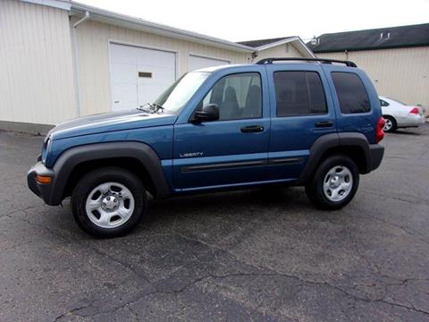 2004 jeep liberty for sale in michigan for Homestead motors inc portage in
