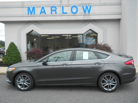 2017 Ford Fusion for sale in Luray, VA
