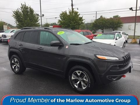 2015 Jeep Cherokee for sale in Luray, VA
