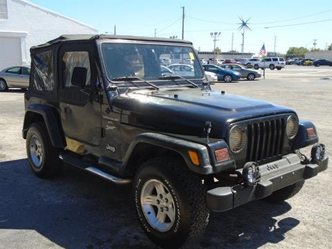 2000 Jeep Wrangler for sale in Lakeland, FL