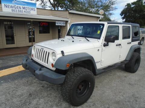 2007 Jeep Wrangler Unlimited for sale in Lakeland, FL