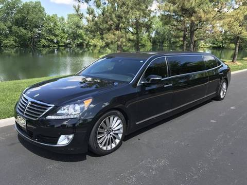 2015 Hyundai Equus for sale at MTK Premier Auto Boutique in Richmond VA