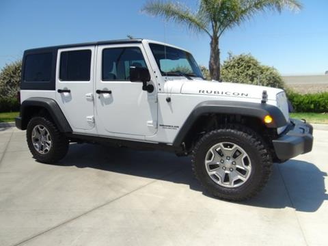 2015 Jeep Wrangler Unlimited for sale in Hanford, CA