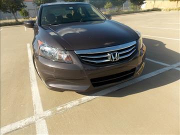 2012 Honda Accord for sale in Dallas, TX