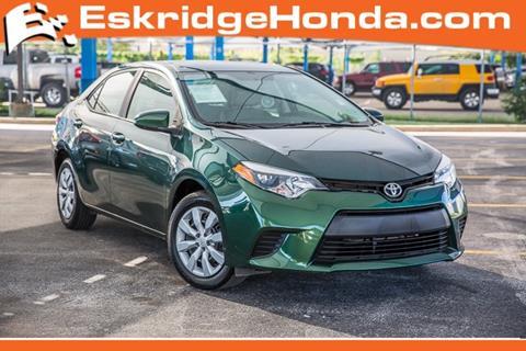 2014 Toyota Corolla for sale in Oklahoma City, OK