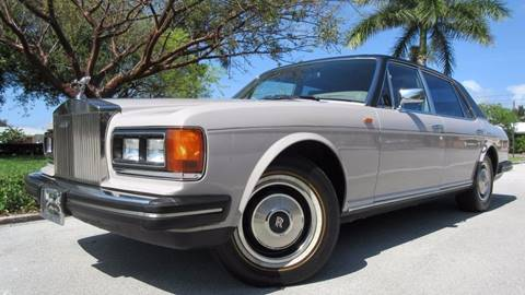 1985 Rolls-Royce Silver Spur for sale at DS Motors in Boca Raton FL