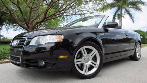 2007 Audi A4 for sale at DS Motors in Boca Raton FL