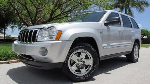 2007 Jeep Grand Cherokee for sale at DS Motors in Boca Raton FL