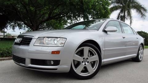 2005 Audi A8 L for sale at DS Motors in Boca Raton FL