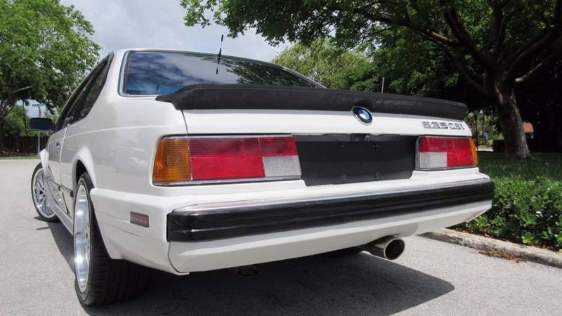 Bmw Series Dr CSi Coupe In Pompano Beach FL DS Motors - 1988 bmw 6 series