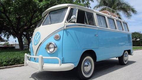 1967 Volkswagen Vanagon for sale at DS Motors in Boca Raton FL