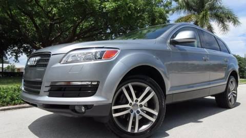 2008 Audi Q7 for sale at DS Motors in Boca Raton FL