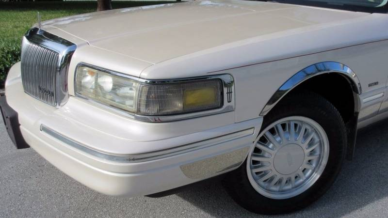 1996 Lincoln Town Car Cartier 4dr Sedan In Pompano Beach Fl Ds Motors