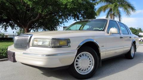 1996 Lincoln Town Car for sale at DS Motors in Boca Raton FL
