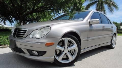 2005 Mercedes-Benz C-Class for sale at DS Motors in Boca Raton FL