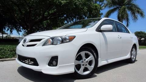 2013 Toyota Corolla for sale at DS Motors in Boca Raton FL