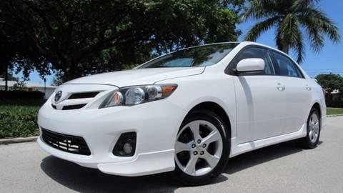 2013 Toyota Corolla for sale in Pompano Beach, FL