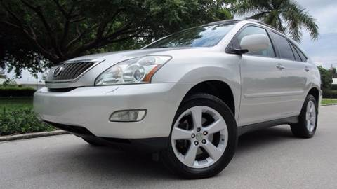 2008 Lexus RX 350 for sale at DS Motors in Boca Raton FL