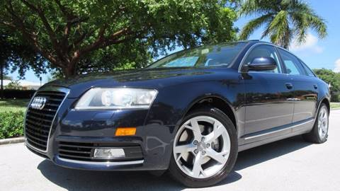 2010 Audi A6 for sale at DS Motors in Boca Raton FL