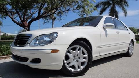 2003 Mercedes-Benz S-Class for sale in Pompano Beach, FL