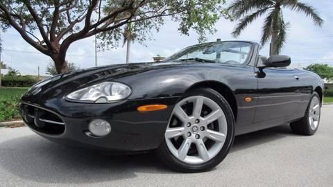 2003 Jaguar XK-Series for sale at DS Motors in Boca Raton FL