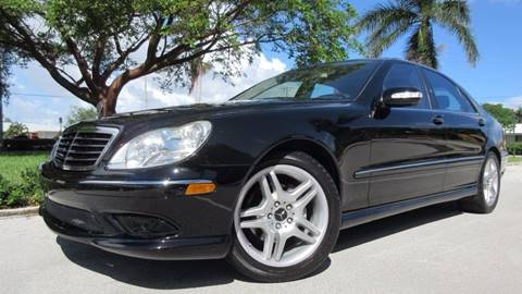 2006 Mercedes-Benz S-Class for sale at DS Motors in Boca Raton FL