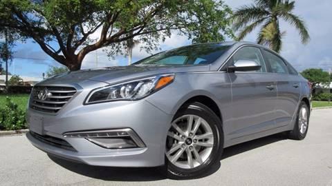2015 Hyundai Sonata for sale in Pompano Beach, FL