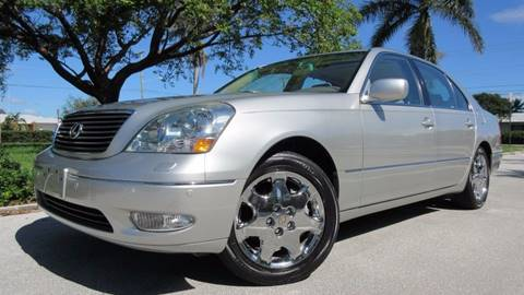 2003 Lexus LS 430 for sale at DS Motors in Boca Raton FL