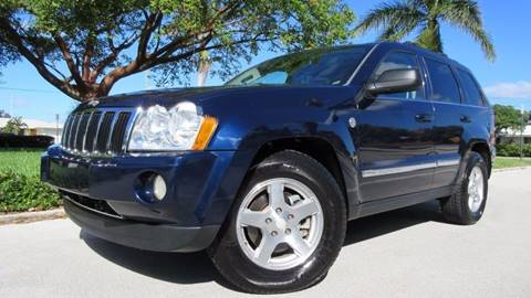 2005 Jeep Grand Cherokee for sale at DS Motors in Boca Raton FL