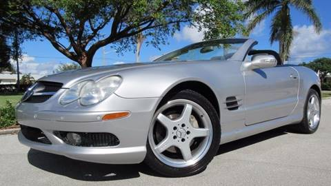 2003 Mercedes-Benz SL-Class for sale at DS Motors in Boca Raton FL