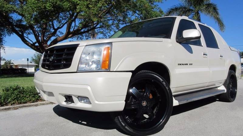 2005 Cadillac Escalade EXT for sale at DS Motors in Boca Raton FL
