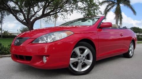 2006 Toyota Camry Solara for sale at DS Motors in Boca Raton FL
