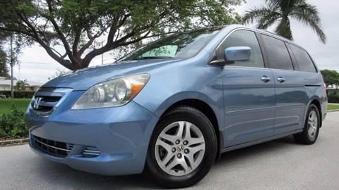 2006 Honda Odyssey for sale at DS Motors in Boca Raton FL