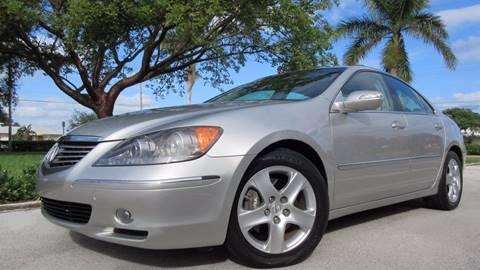 2006 Acura RL for sale at DS Motors in Boca Raton FL