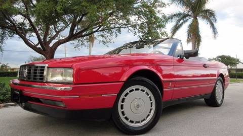 1992 Cadillac Allante for sale at DS Motors in Boca Raton FL