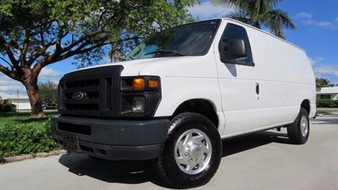 2010 Ford E-Series Cargo for sale at DS Motors in Boca Raton FL
