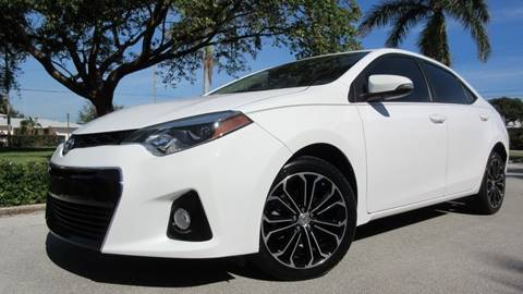 2015 Toyota Corolla for sale at DS Motors in Boca Raton FL
