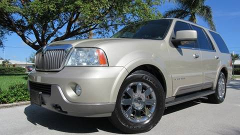 2004 Lincoln Navigator for sale at DS Motors in Boca Raton FL