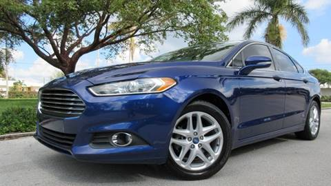 2013 Ford Fusion for sale at DS Motors in Boca Raton FL