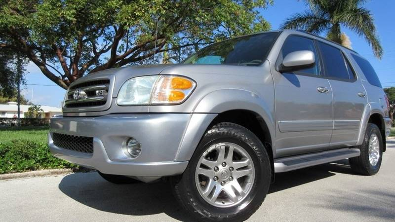 2004 Toyota Sequoia for sale at DS Motors in Boca Raton FL