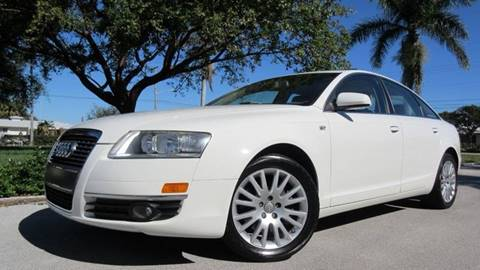 2006 Audi A6 for sale at DS Motors in Boca Raton FL
