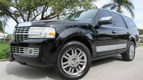 2007 Lincoln Navigator for sale at DS Motors in Boca Raton FL