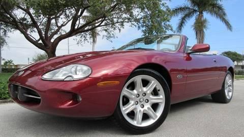 2000 Jaguar XK-Series for sale at DS Motors in Boca Raton FL