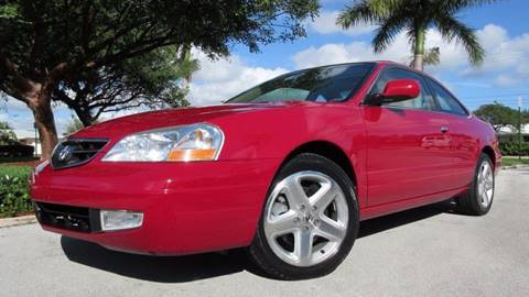 2001 Acura CL for sale at DS Motors in Boca Raton FL