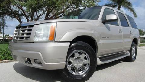 2004 Cadillac Escalade for sale at DS Motors in Boca Raton FL